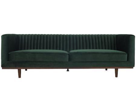 Samt-Sofa Dante (3-Sitzer)