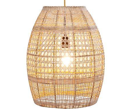 Lampa wisząca z rattanu Kuntuk Mesh