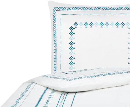 Perkal-Wendebettwäsche Indira im Boho Style
