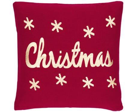 Federa natalizia con cucitura a maglia Christmas
