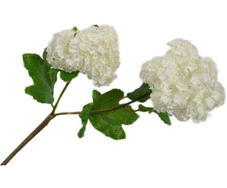 Flor artificial copo de nieve Snow