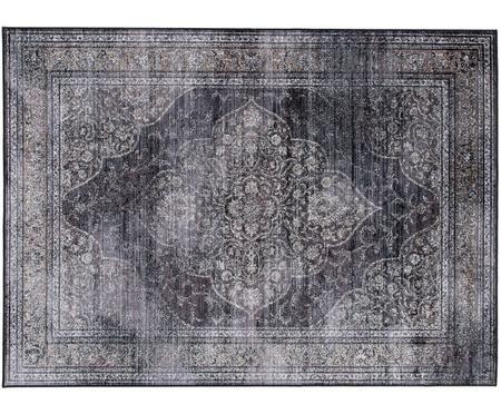 Vintage Teppich Rugged in Anthrazit