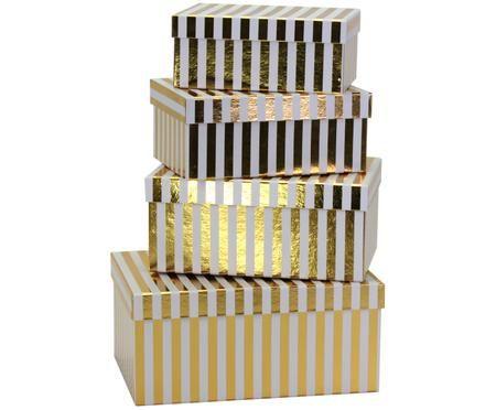 Geschenkboxen-Set Migell, 4-tlg.