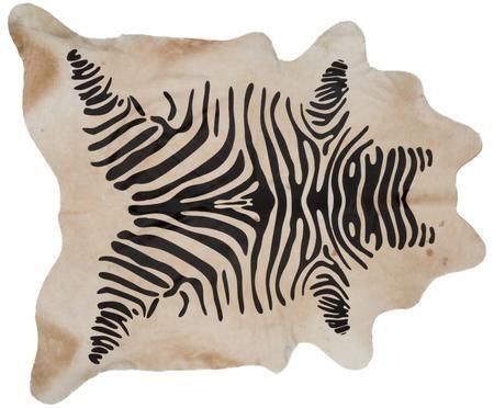 Tapis en peau de vache Zebra