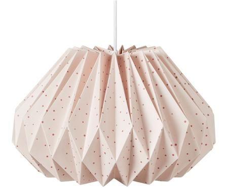 Lampenkap Origami van papier