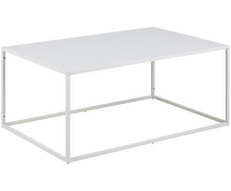 Metalen salontafel Newton in wit