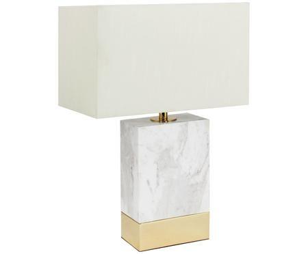 Marmor-Tischleuchte Isabella