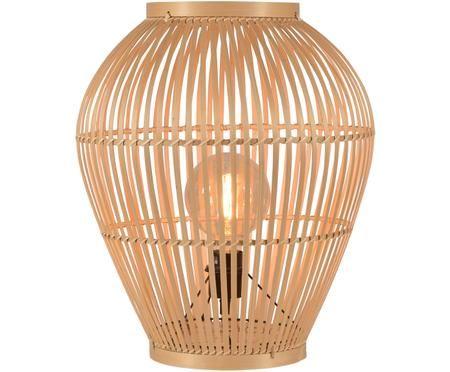 Lámpara de pie de bambú Tuvalu
