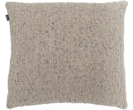 Jemně pletený vlněný povlak na polštář Rope