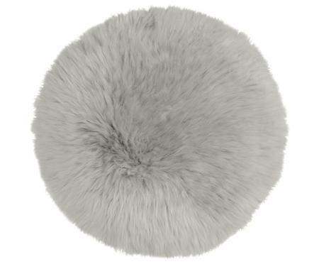 Zitkussen van schapenvacht Luna