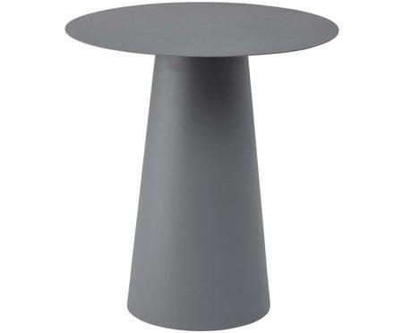 Tavolino in metallo rotondo Bona in grigio