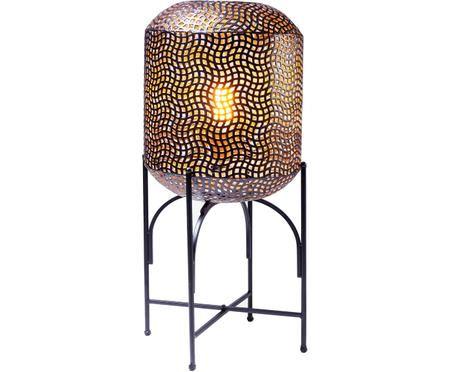 Stojací lampa z oceli Oasis
