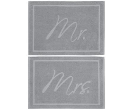 Set tappetini da bagno Mr. & Mrs. 2 pz.