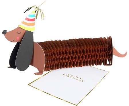 Carte d'anniversaire Sausage Dog