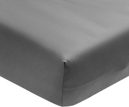 Lenzuolo con angoli in  raso di cotone Premium