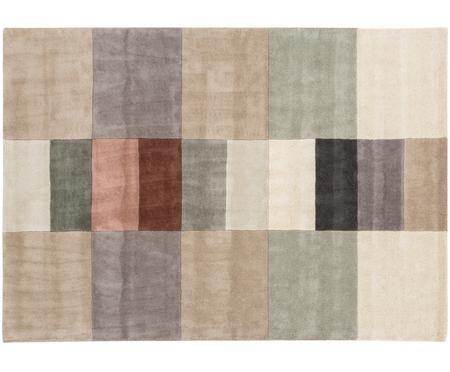 Alfombra artesanal de lana Impilati