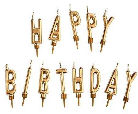 Kerzen-Set Happy Birthday, 12-tlg.