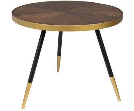 Tavolino da salotto tondo Denise