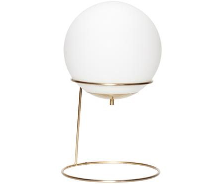 Tischleuchte Daria aus Opalglas