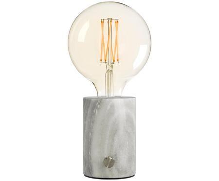 Dimmbare LED Marmor-Tischleuchte Orbis