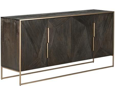 Massief houten dressoir Harry