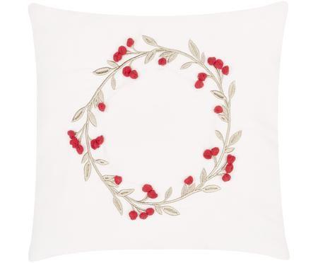 Funda de cojín Christmas Wreath