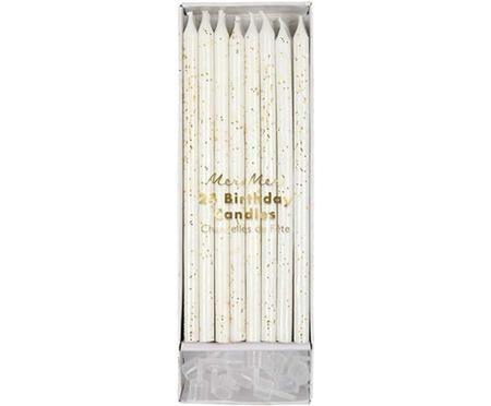 Set candele per torta Fete, 48 pz.