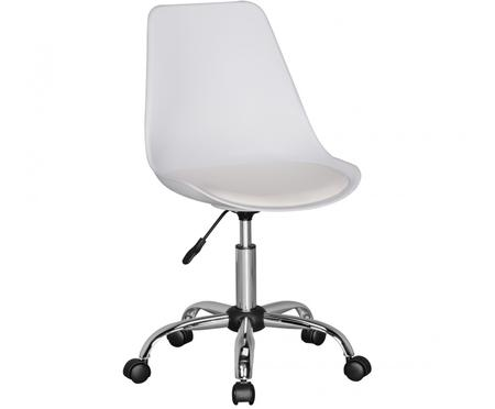 Kancelářská otočná židle spolstrovanou sedací plochou Korsika