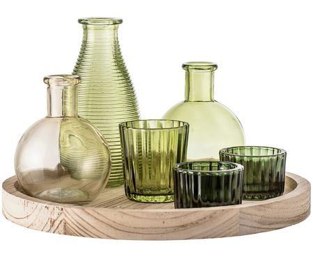 Teelichthalter- und Vasen-Set Wiegand, 7-tlg.