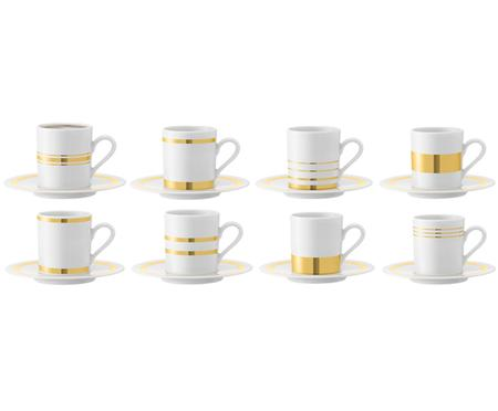 Espressotassen-Set Deco, 16-tlg.