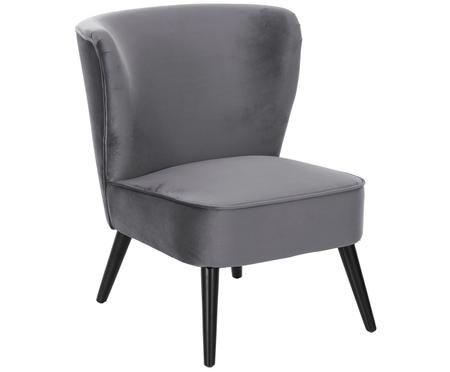 Aksamitne krzesło Robine