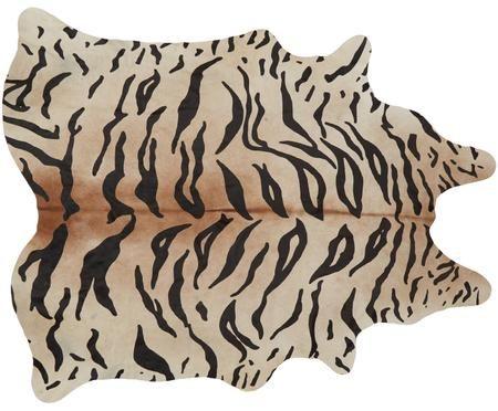 Koberec zhovězí kůže Tiger