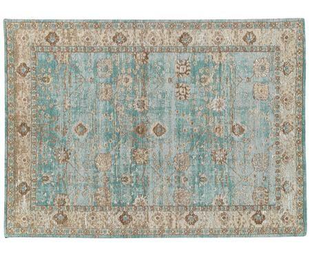 Ručně tkaný žinylkový koberec Rimini