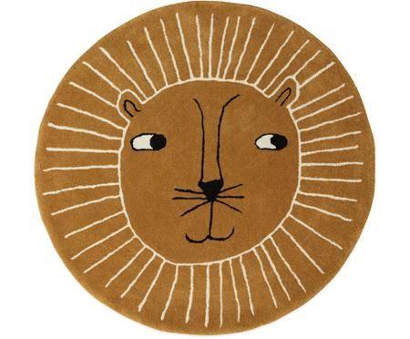 Wollteppich Lion