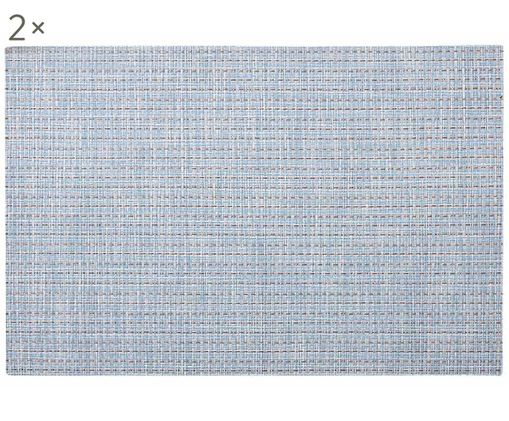 Tovaglietta Lohan, 2 pz., Azzurro