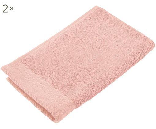Toallas de tacador Soft Cotton, 2uds., Rosa