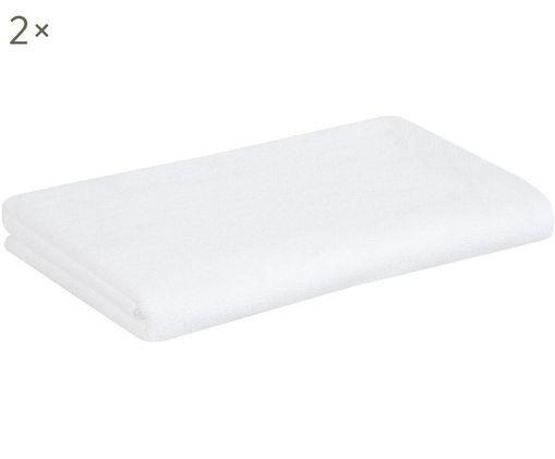 Asciugamano Comfort, 2 pz., Bianco