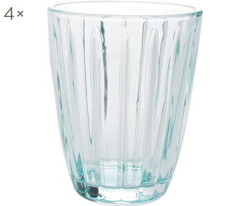 Szklanka Zefir, 4 szt., Niebieski