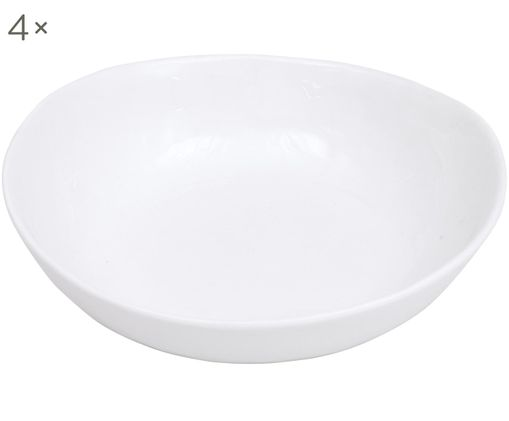 Ciotola Porcelino, 4 pz., Bianco