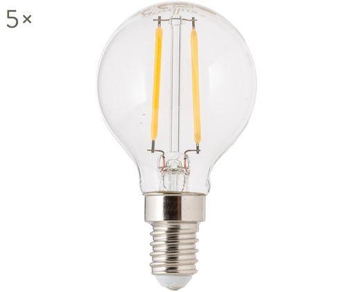 LED Leuchtmittel Yekon (E14 / 2Watt) 5 Stück, Transparent