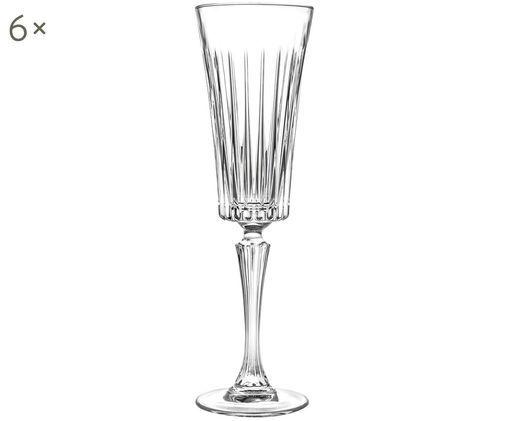 Flûtes à champagne en cristalTimeless, 6pièces, Transparent