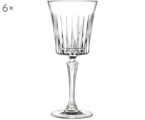 Bicchieri per vino rosso in cristallo  Timeless, 6 pz., Trasparente