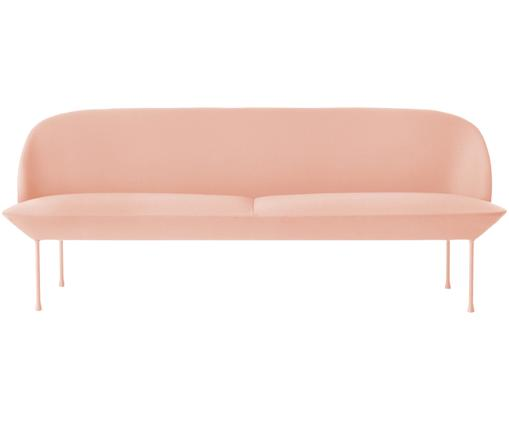 Sofa Oslo (3-Sitzer), Rosé