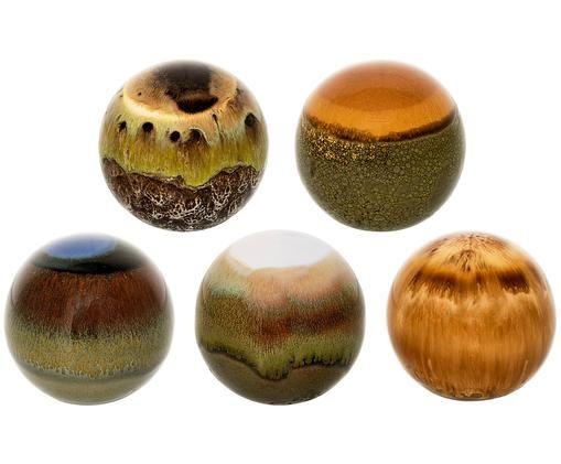 Set sfere da decorazione Energy, 5 pz., Multicolore