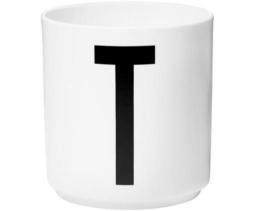 Mug p, Blanc, noir