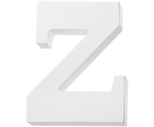 Lettera di decorazione Z, Bianco