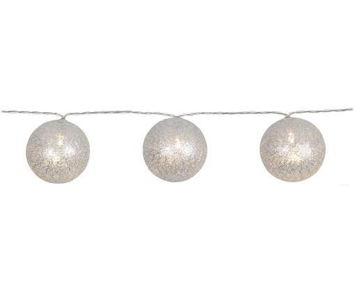 Ghirlanda luminosa a LED Joy, Argentato