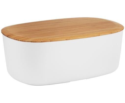 Boîte à painBox-It, Boîte: blanc Couvercle: brun