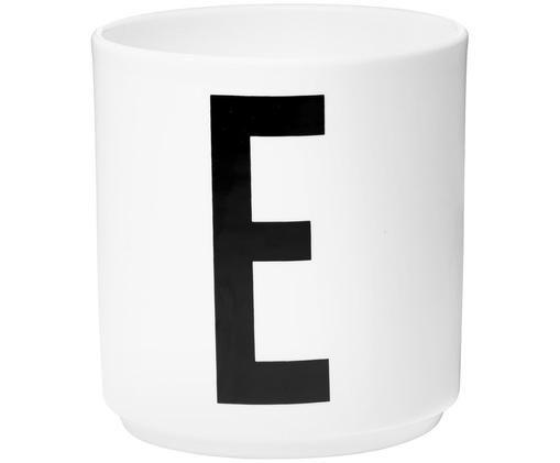Kubek E, Biały, czarny