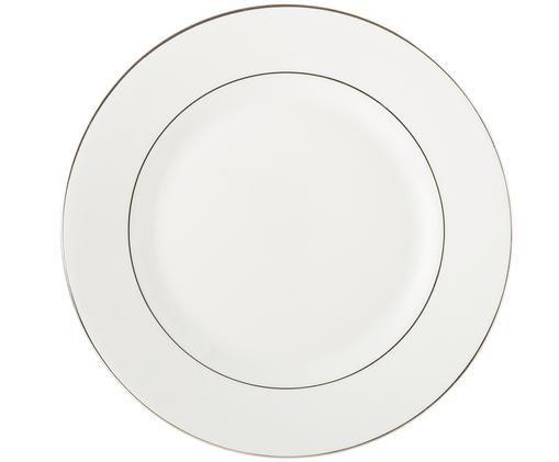 Platos postre Signet Platinum, Blanco